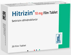 Hitrizin 10 mg 20 Tablet